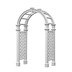 Nantucket Legacy Arbour with Trim