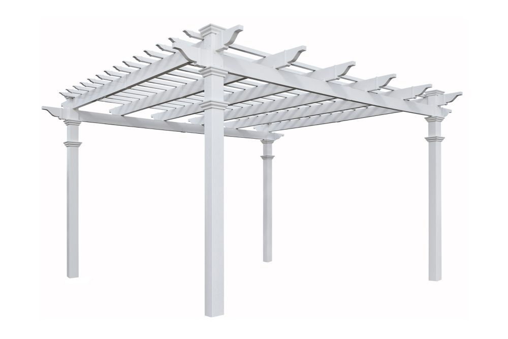 New England Arbors Regency Pergola