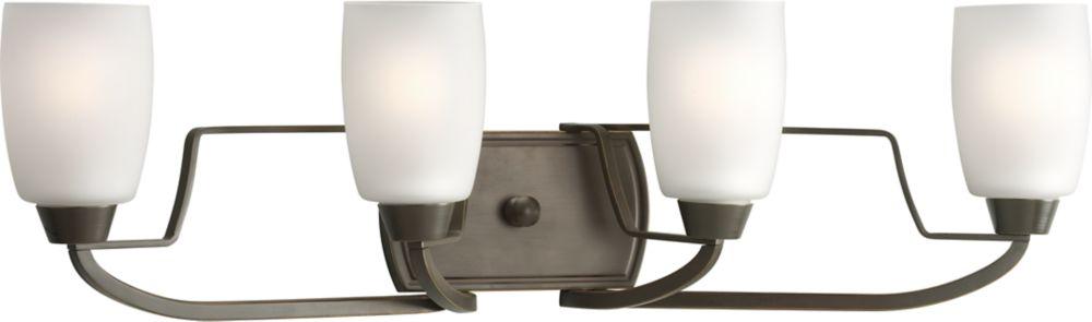 Wisten Collection Antique Bronze 4-light Vanity Fixture