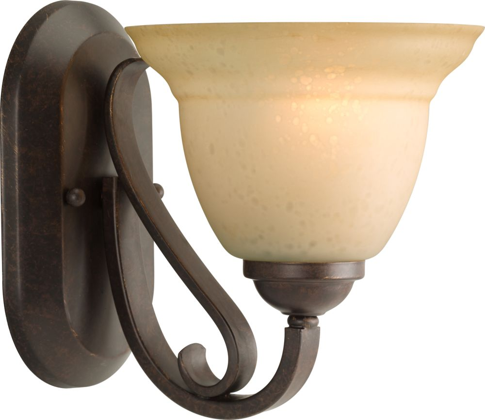 Torino Collection Forged Bronze 1-light Wall Bracket