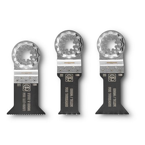 FEIN Starlock SL E-Cut Combo (3-Pack) - 221/222/223