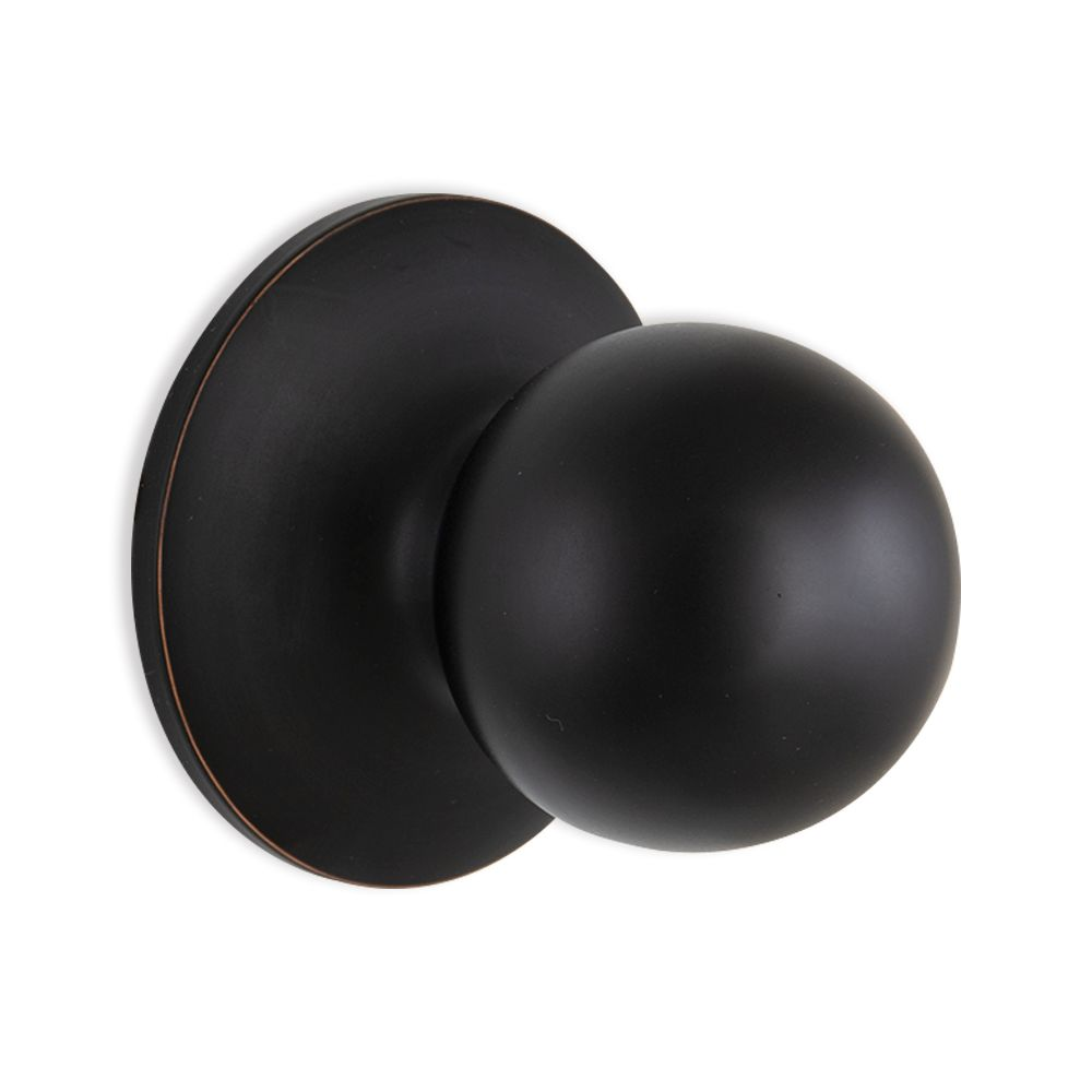 Defiant Aged Bronze Passage Ball Knob