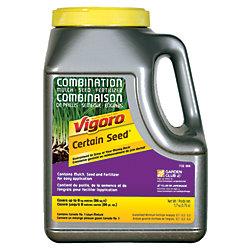 Vigoro Vigoro Certain Seed - combinaision de paillis, semence, engrais 1,7 kg