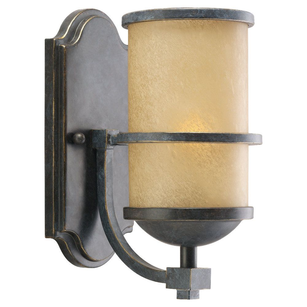 1-Light Flemish Bronze Sconce