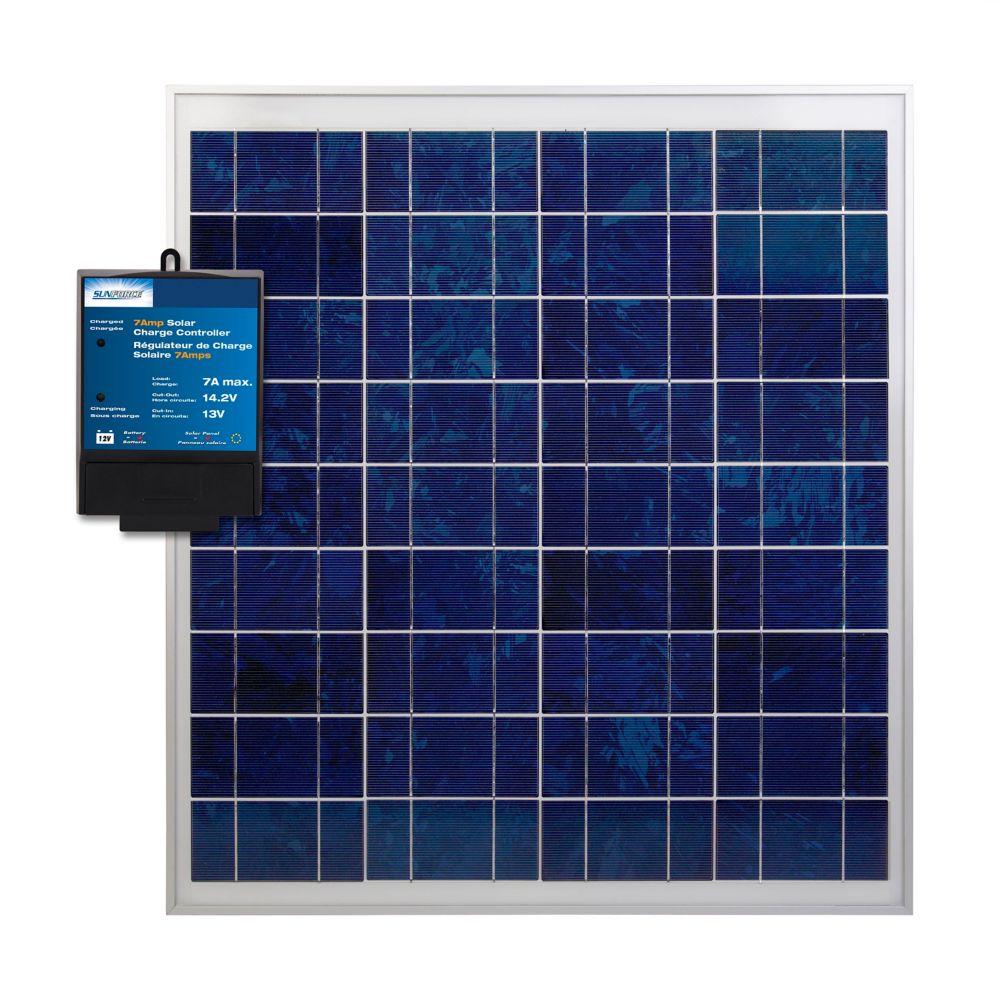 Generac 30 Amp Indoor Generator Transfer Switch Kit For 6 10 Ezgenerator Wiring Diagram Sunforce 60 Watt Crystalline Solar