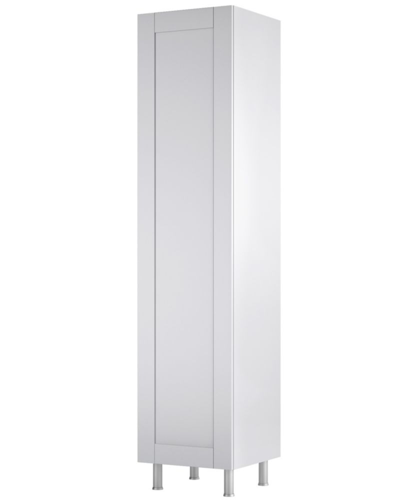Modular Cabinet Solutions Arctic White Vertical Storage Cabinet T1880