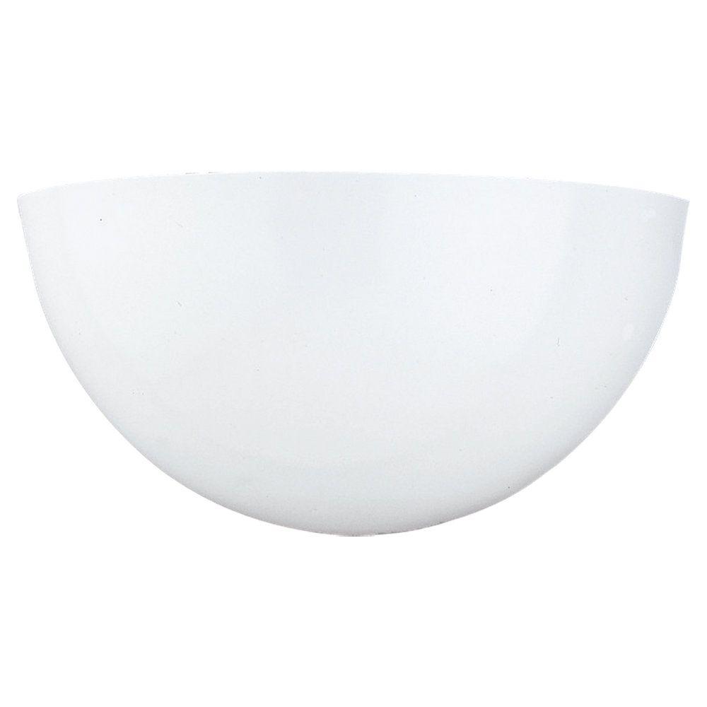 1-Light White Bathroom Vanity