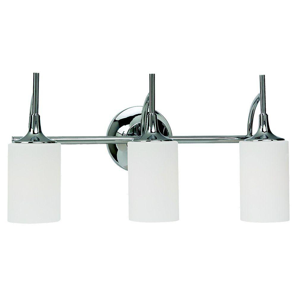 Lumière Seagull fixée au mur à trois ampoules avec abat-jour de spécialité, finition de spécialit...