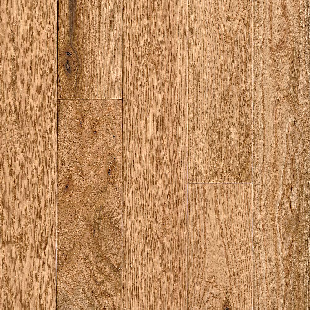 Bruce Plancher, bois d'ingénierie, 3/8 po x 5 po, Chêne AV, 25 pi2/boîte