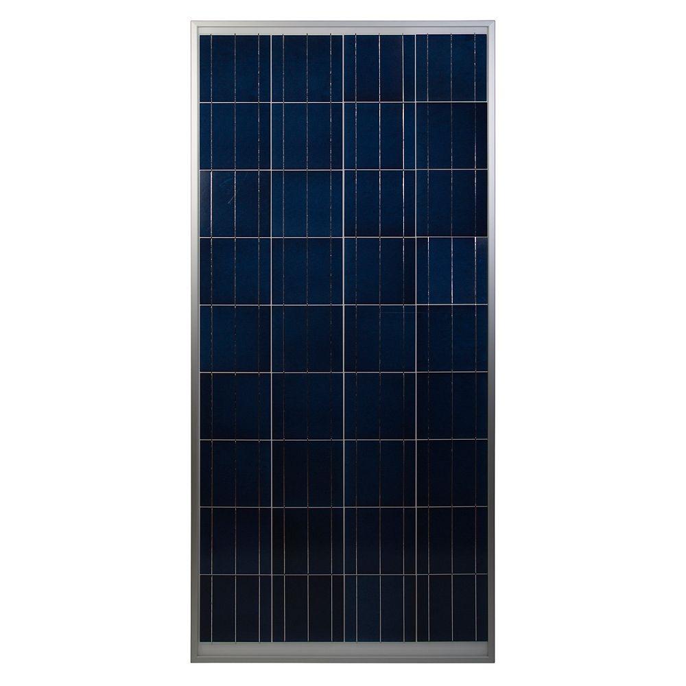 Coleman Panneau solaire cristallin de 150 W, 12 V