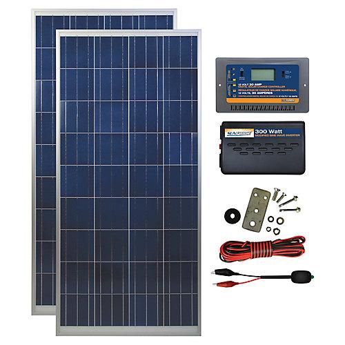 panneau solaire 300 watts