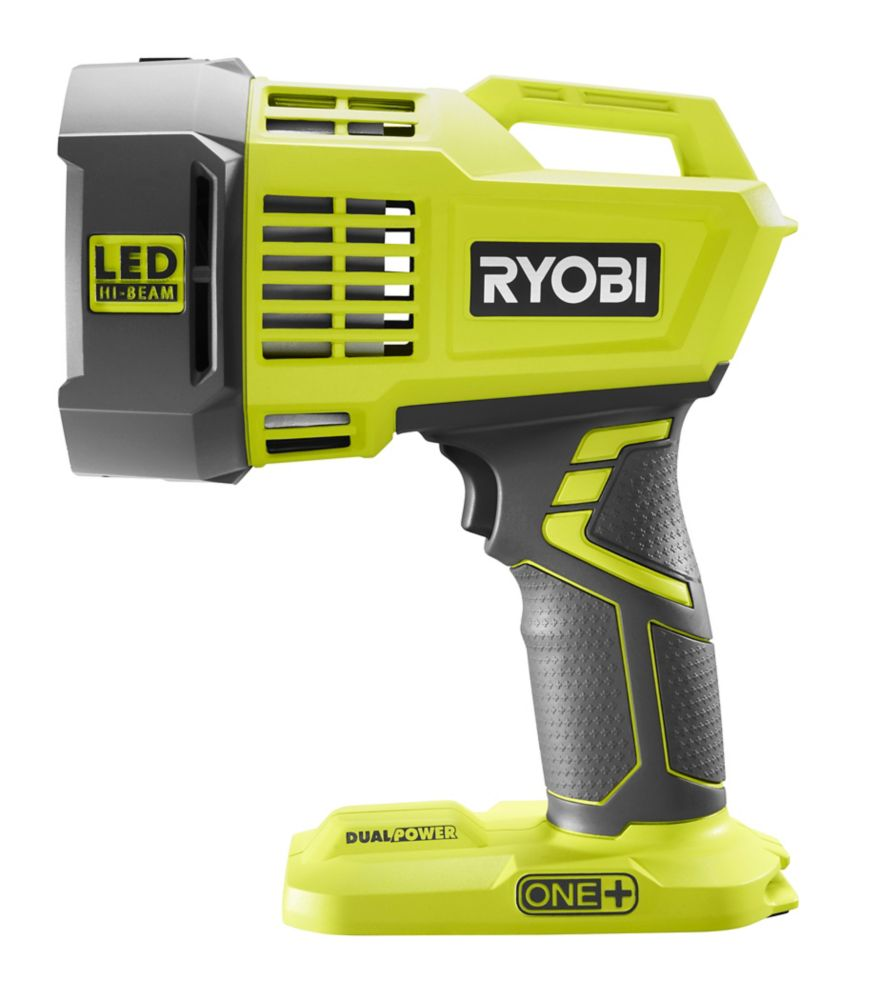 Ryobi 18V ONE+ Cordless Dual Power LED Spotlight P717