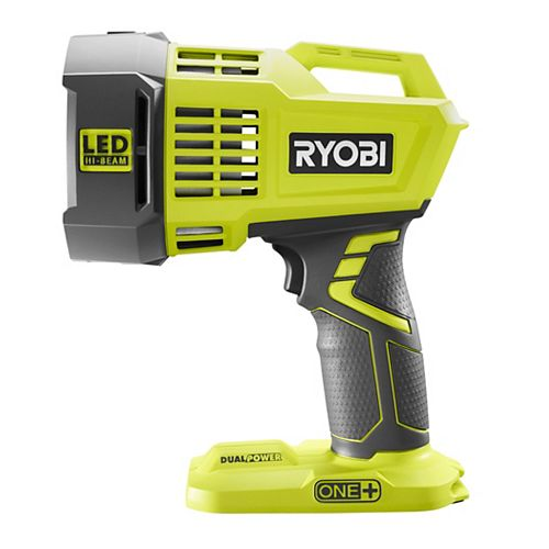 RYOBI 18V ONE+ Cordless Dual Power LED Spotlight