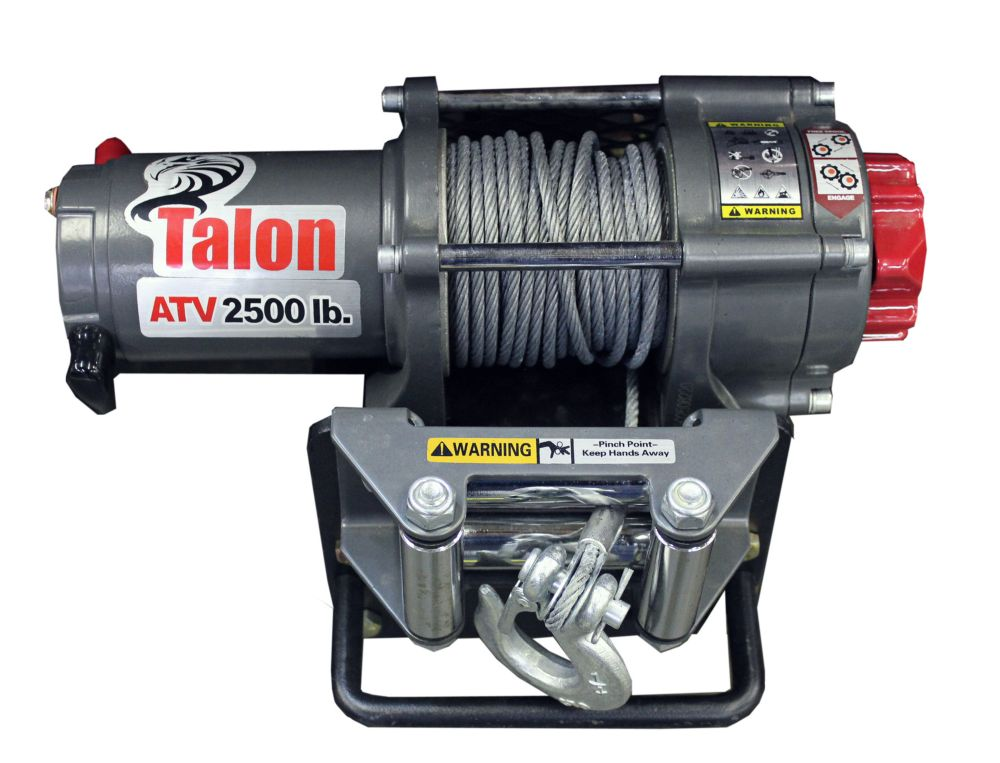 2500 lbs. Electric Winch