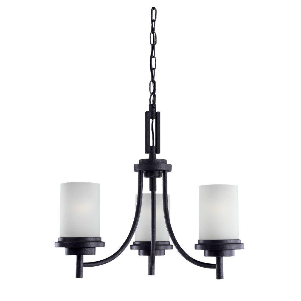 3-Light Blacksmith Chandelier