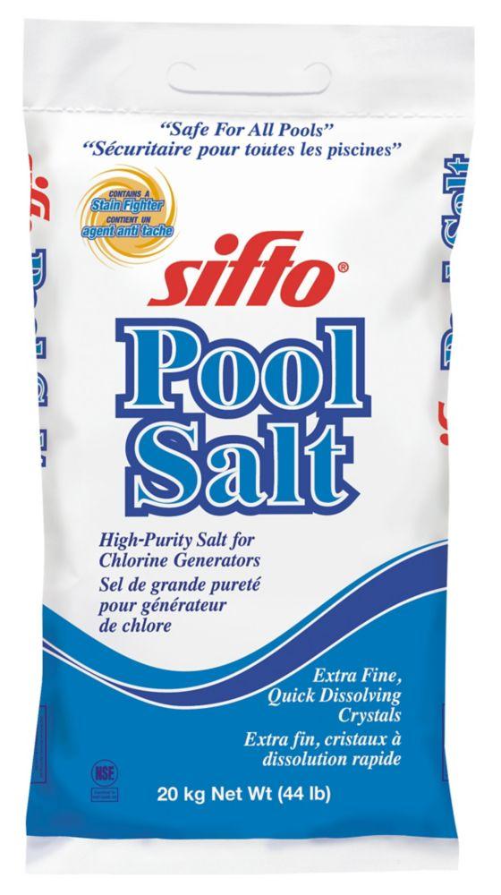 Le sel pour piscine