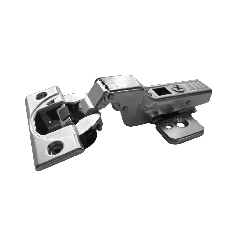 Richelieu Half Overlay Blumotion Clip Top Hinge with Plate - 110 Degree