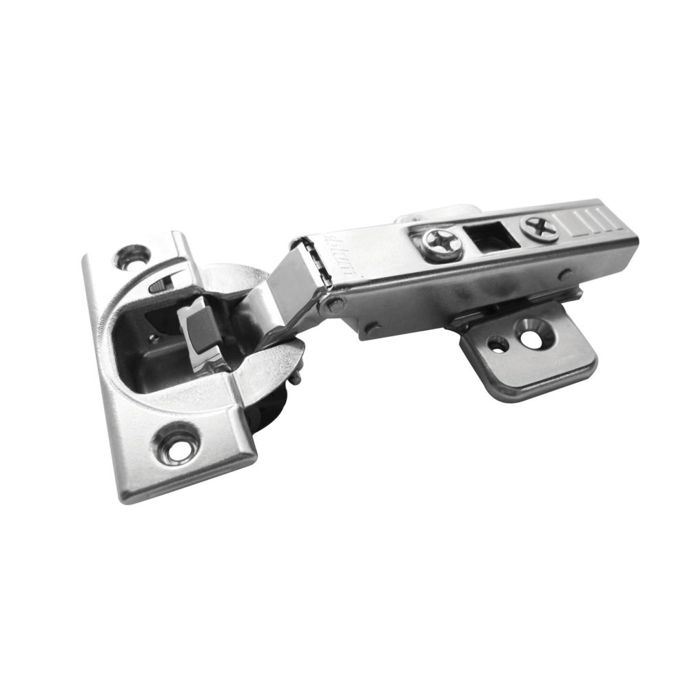 Framelss Full Overlay Clip Hinge & Plate With Blumotion