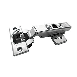 Richelieu Full Overlay Blumotion Clip Top Hinge with Plate - 110 Degree