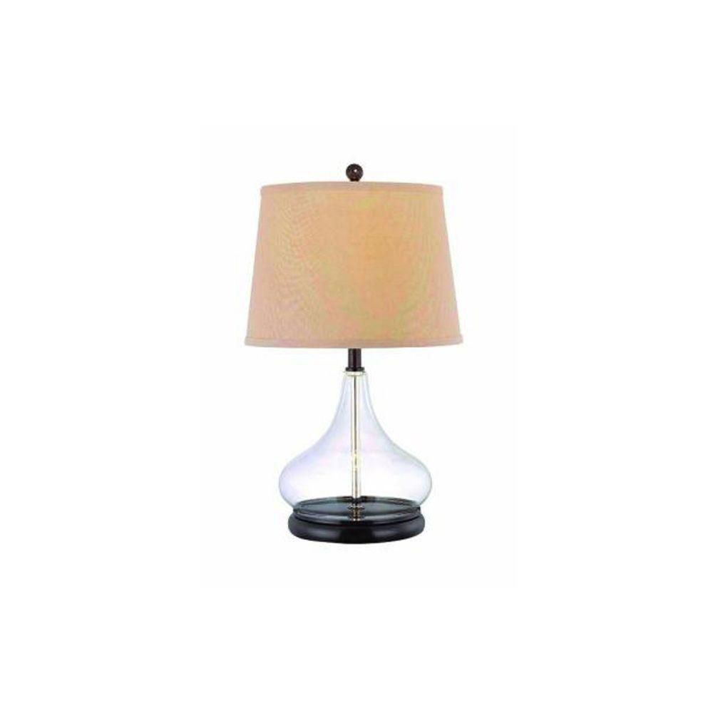illumine 1 light table lamp bronze finish the home depot canada. Black Bedroom Furniture Sets. Home Design Ideas