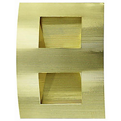 Illumine 1 Light Wall Sconce Brass Finish
