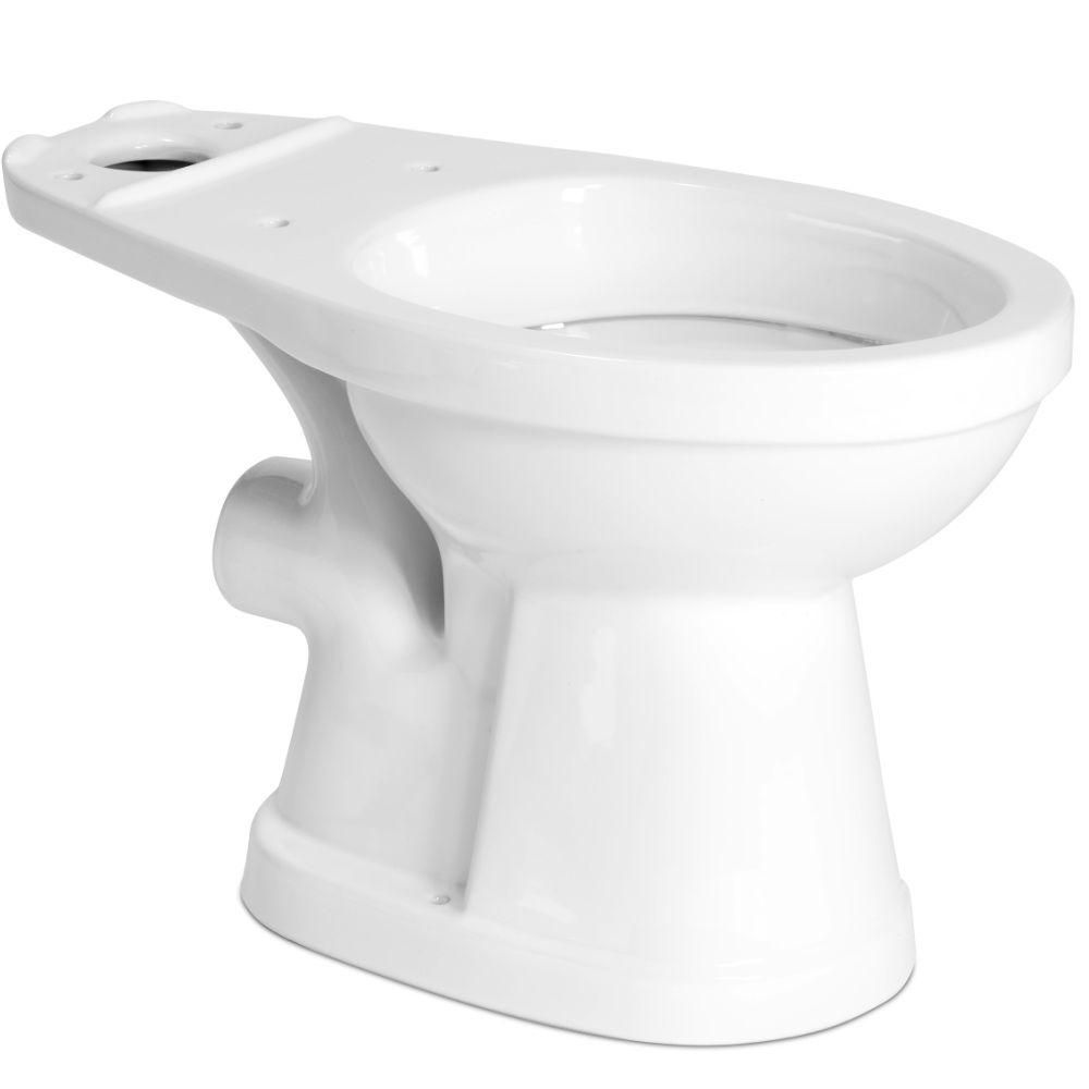 Saniflo Round Toilet Bowl Only in White