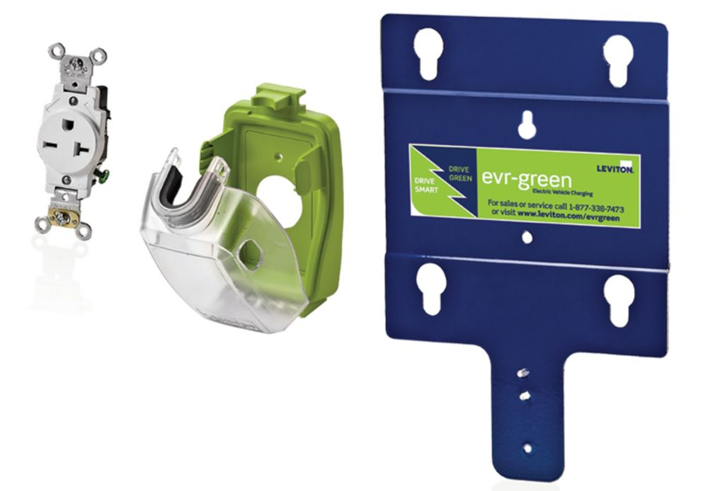 Leviton Evr-Green Pre-Wire Installation Kit for Level 2 Electric Car Charging Station