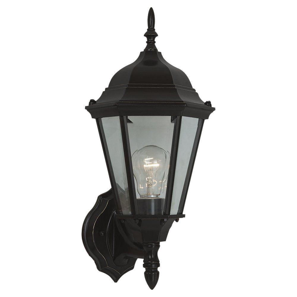 1 Light Heirloom Bronze Incandescent Outdoor Wall Lantern