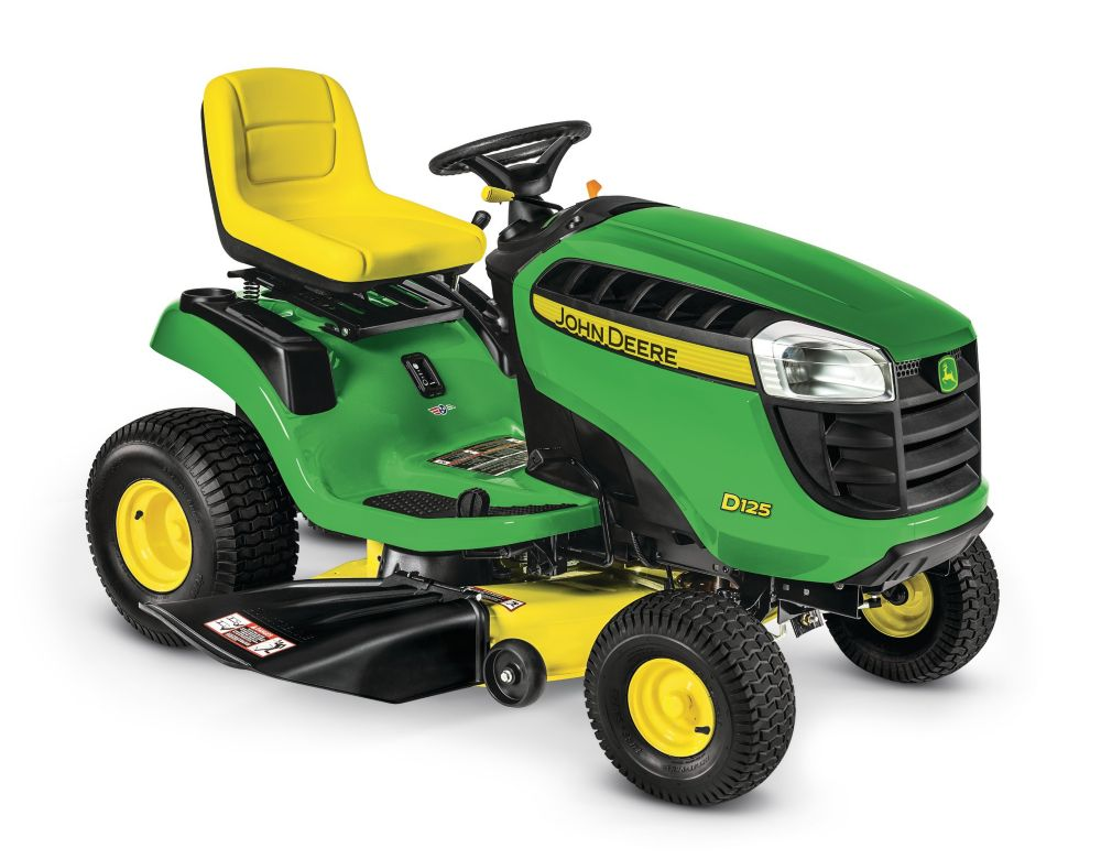 D125 42-inch 20 HP V-Twin Hydrostatic Front-Engine Riding Mower