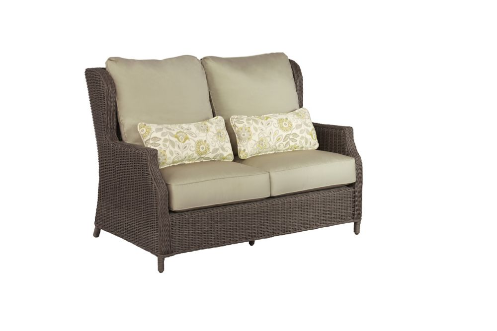 the grey deal sets spuncrylic fabric piece furniture shop brick patio loveseats loveseat outdoor size brown reims get