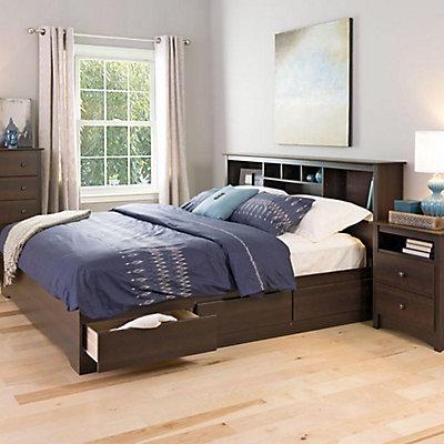 java drawers platform shop awesome king manhattan bed storage the with frame futon