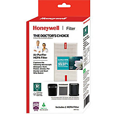 True HEPA Replacement Filter for HPA100, HPA200, HPA300 series Air Purifiers