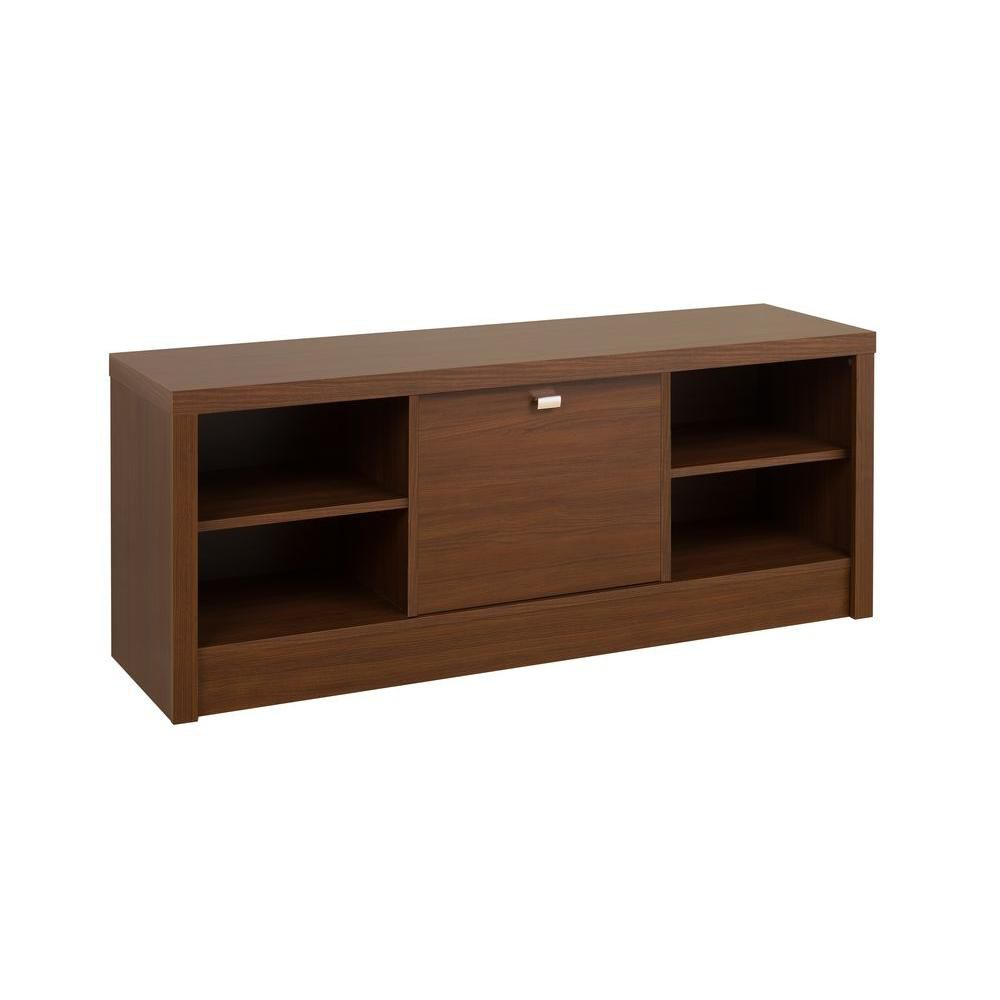Warm Cherry Series 9 Designer Cubbie Bench with Door