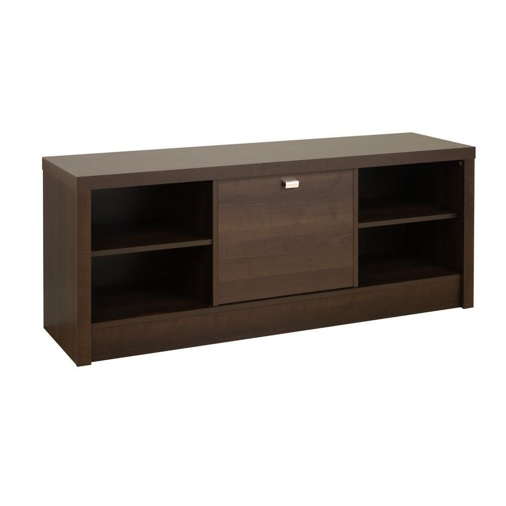 Espresso Series 9 Designer Cubbie Bench with Door