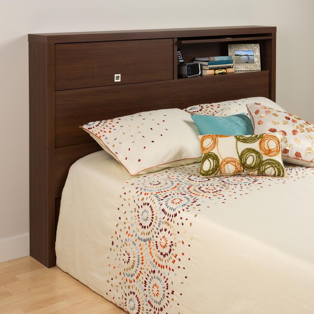 Warm Cherry Series 9 Designer Full / Queen 2 Door Headboard