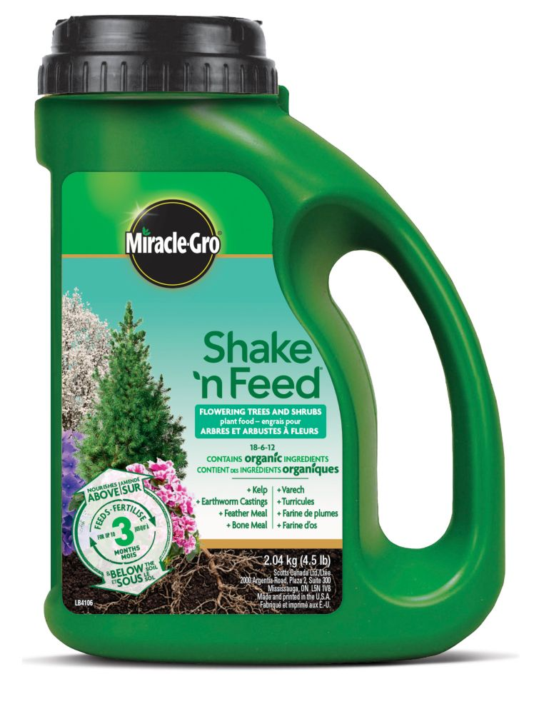 Miracle-Gro Shake 'n Feed Flowering Trees & Shrubs 18-6-12 2.04 kg