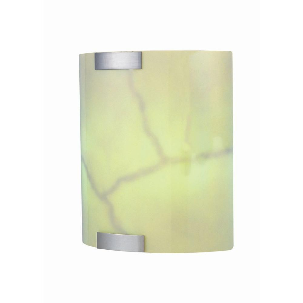 2 Light Wall Sconce Steel Finish Glass Shade CLI-LS429937 Canada Discount