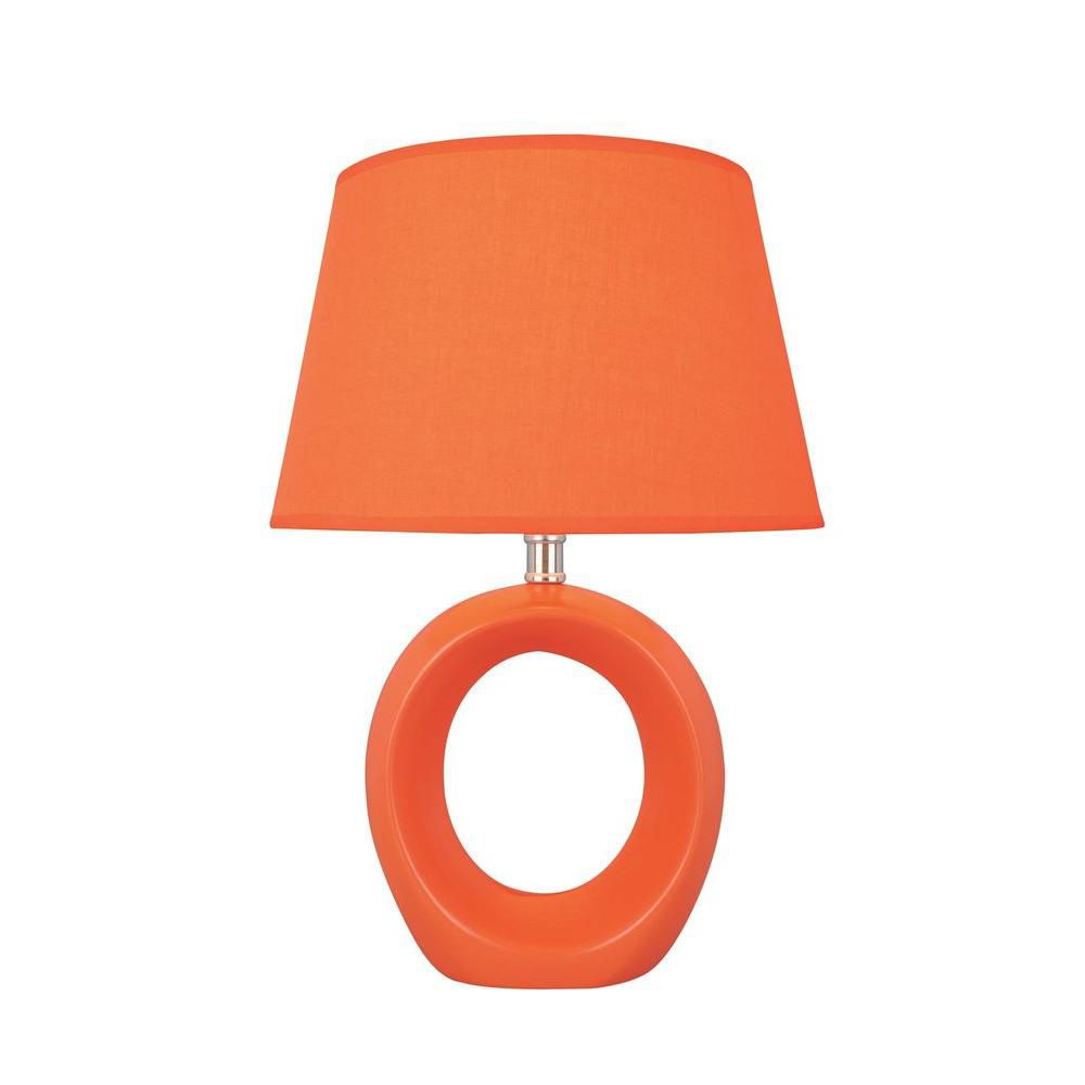 1 Light Table Lamp Orange Finish CLI-LS432470 in Canada