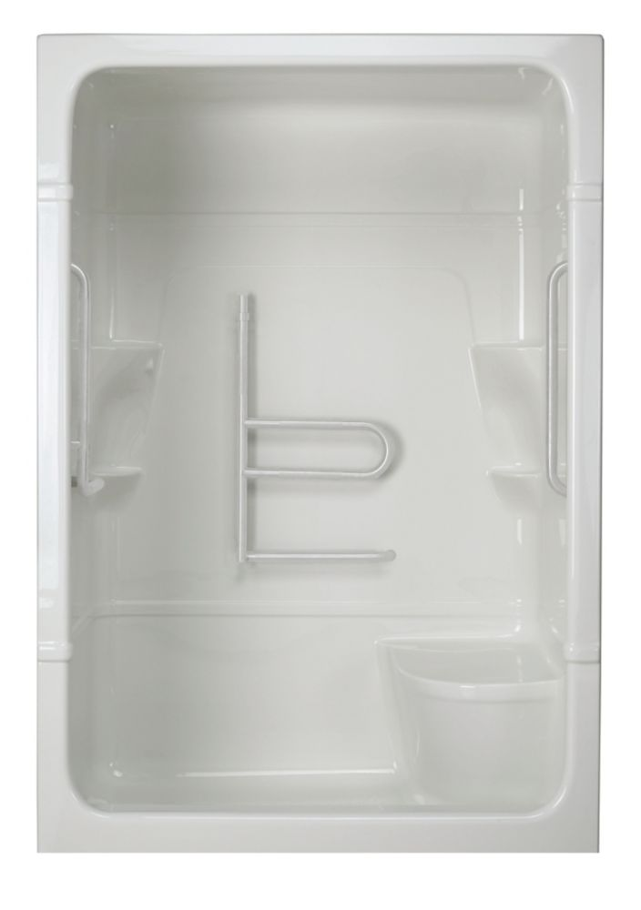 Madison 5 3-Piece Shower Stall with Seat