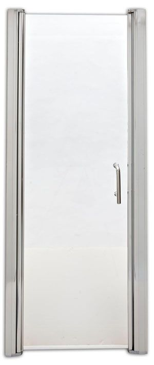 Porte de douche pivotante sans cadre, SD24PS