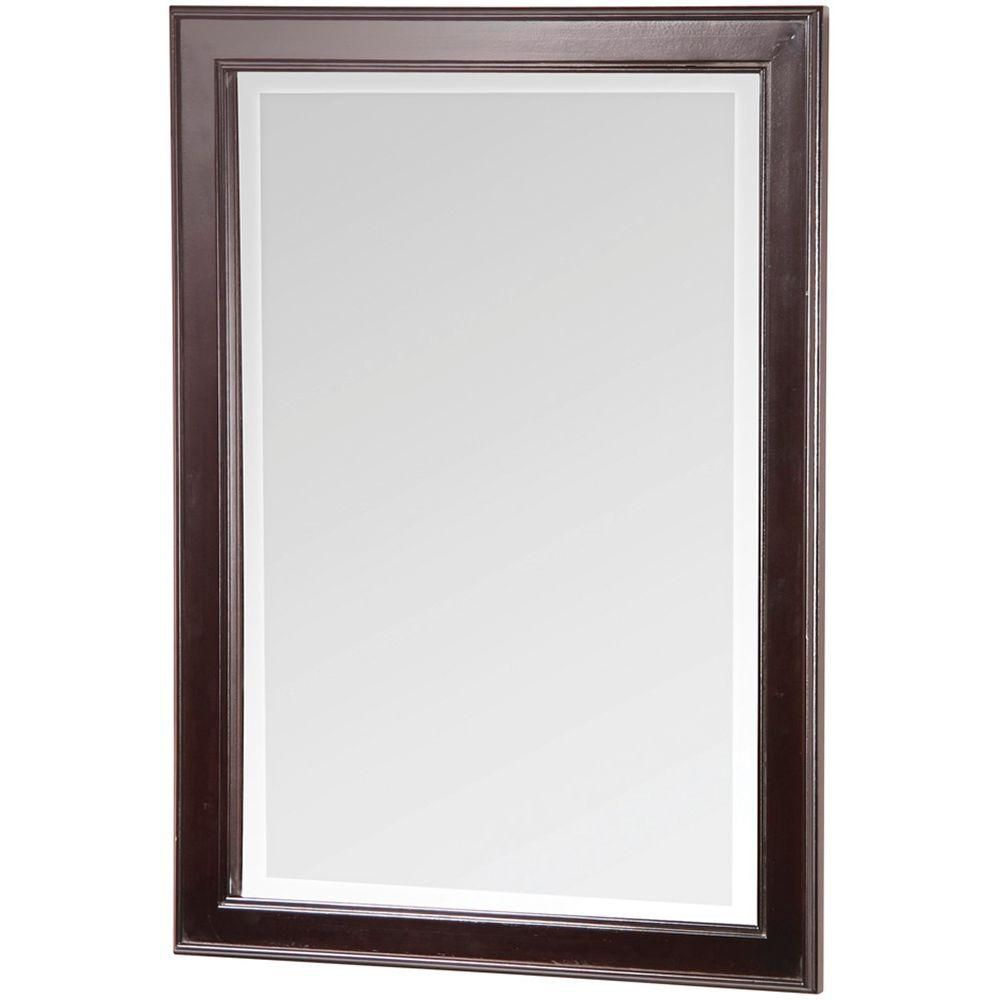 foremost international gazette beveled mirror the home