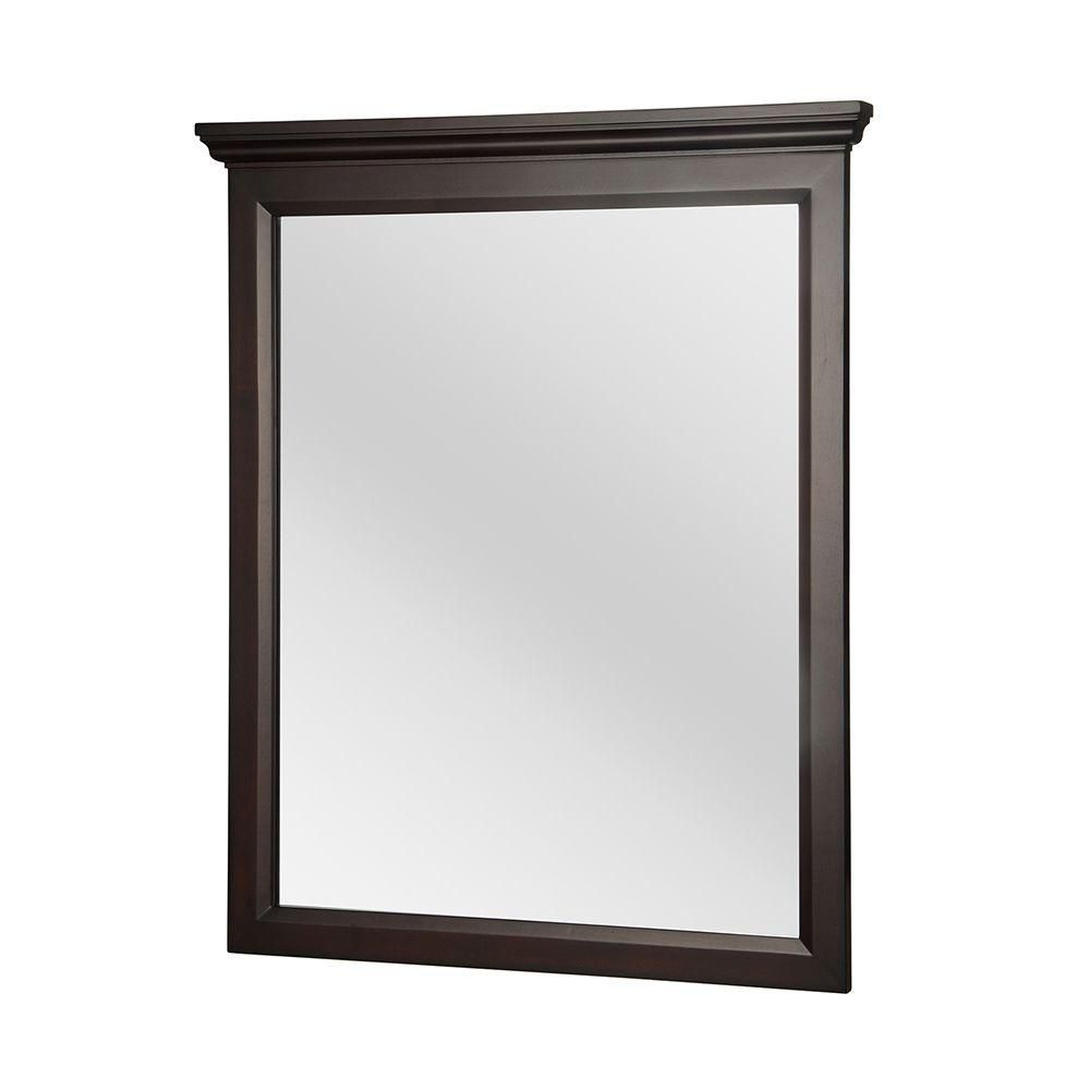 Home decorators collection teagen miroir de 29 po home for Collection miroir