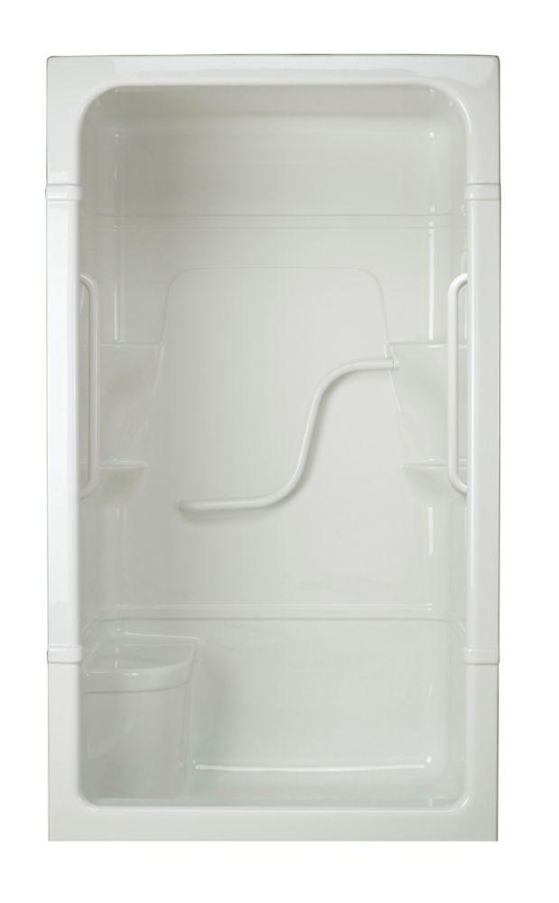 Madison 4 - Cabine de douche 3 pièces avec siège - Série Free Living (Light) - Droite