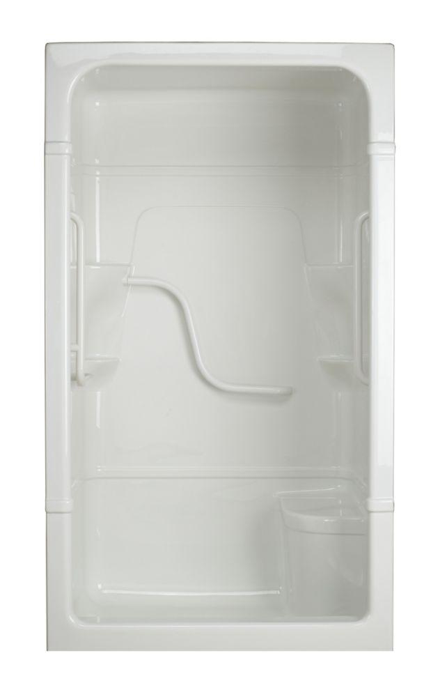 Madison 4 - Cabine de douche 3 pièces avec siège - Série Free Living (Standard) - Gauche