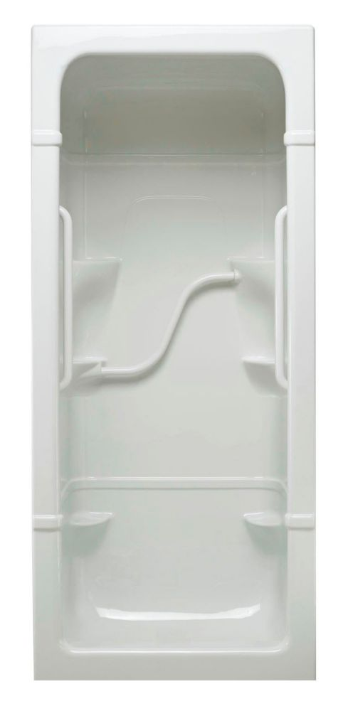 Madison 3 1-piece Shower Stall Free Living Series - Light- Right Hand FL3R Canada Discount