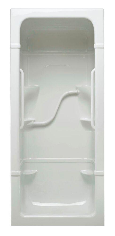 Madison 3 - Cabine de douche 3 pièces - Série Free Living (Light) - Droite