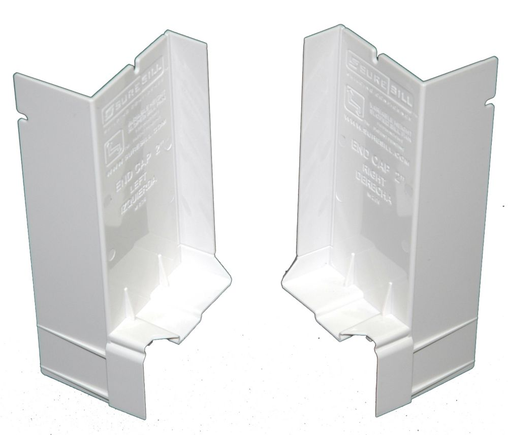 2-1/16 Inch Sloped Sill Pan for Window Installation and Flashing  End Caps Single Pair