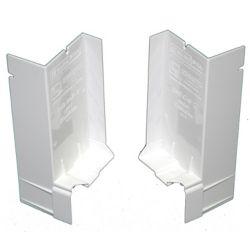SureSill Appui de fenêtre incliné de 2 1/16 po pour installation de fenêtre et embouts pour solin, en paire simple