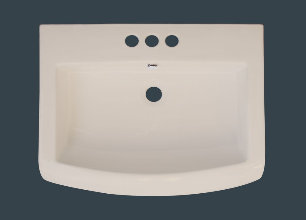 23 Inch x 18 Inch Biscuit Ceramic Top with 4 Inch Centers 415 in Canada