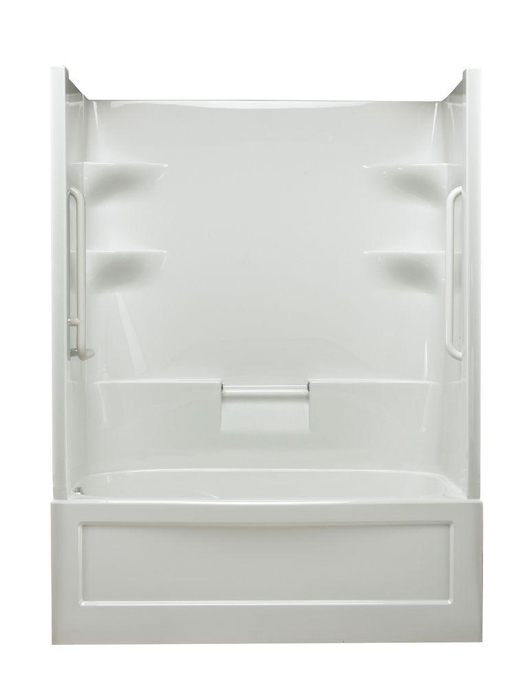 Belaire 1-piece Whirlpool Free Living Series - Standard-Left Hand